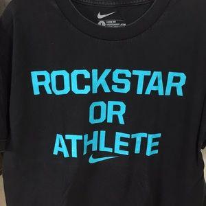 Large Nike rockstar or athlete shirt